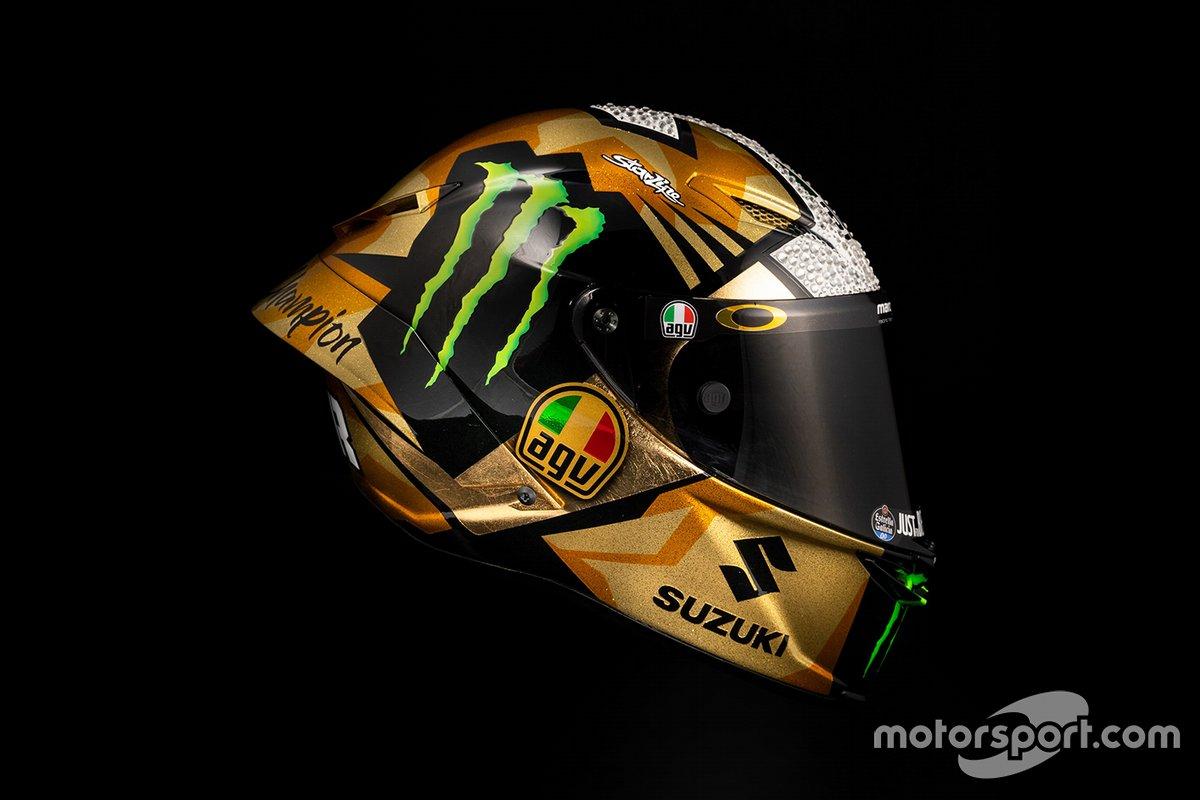 Casco de Joan Mir, Team Suzuki MotoGP