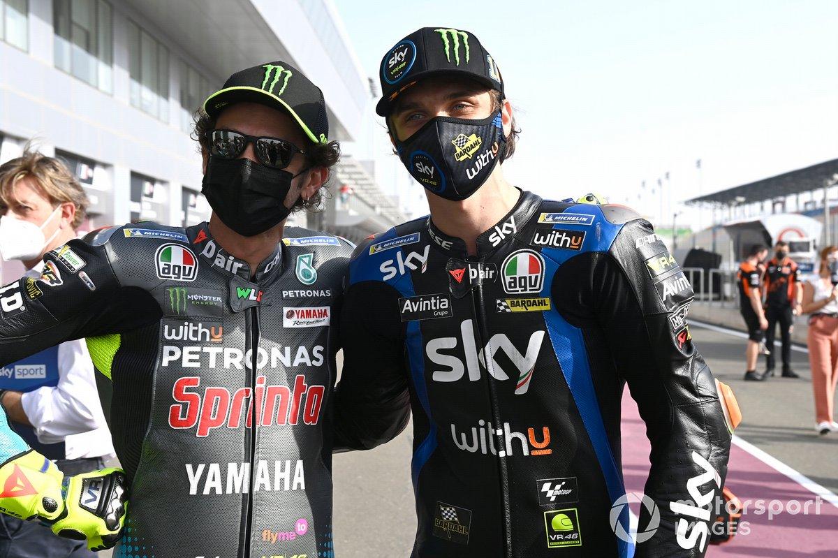 Valentino Rossi, Petronas Yamaha SRT, Luca Marini, Esponsorama Racing