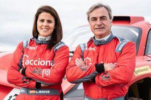 Carlos Sainz, Laia Sanz, ACCIONA | Sainz XE Team