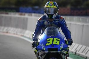 Race winner Joan Mir, Team Suzuki MotoGP