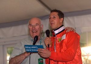 Murray Wallker and Michael Schumacher