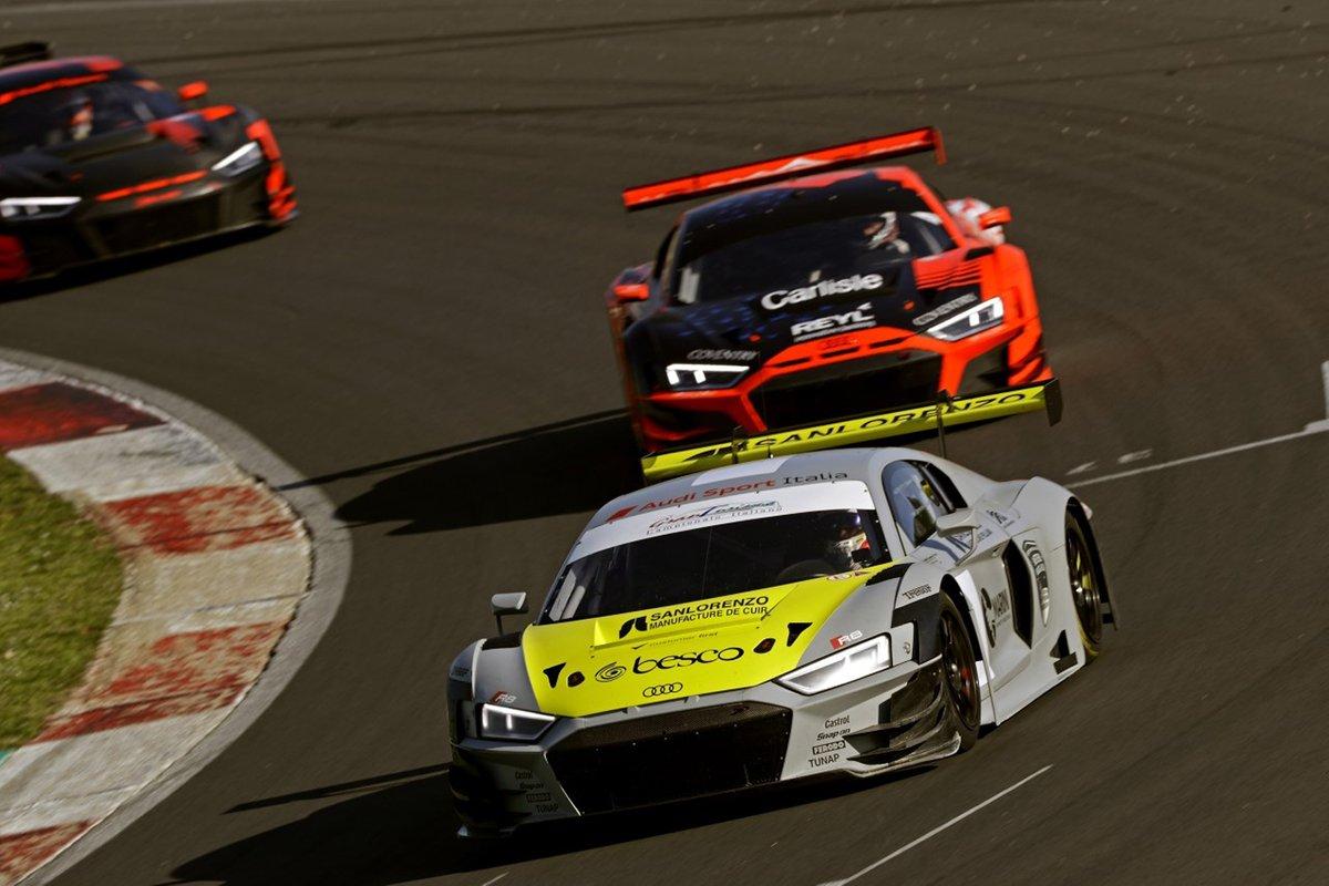 Mattia Drudi, Riccardo Agostini, Audi Sport Italia, Audi R8 LMS GT3 Evo