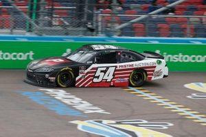 Ty Gibbs, Joe Gibbs Racing, Toyota Supra PristineAuction.com