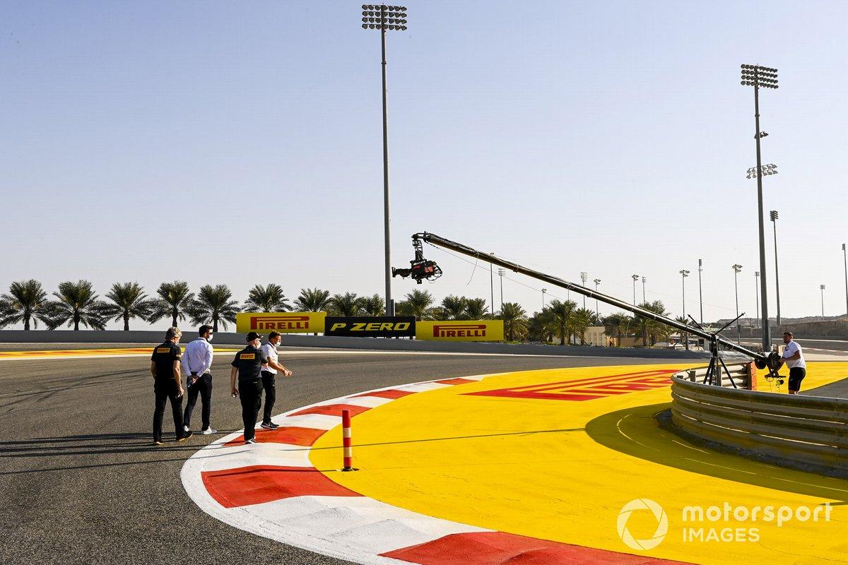 Roberto Boccafogli, Jefe de Marketing F1 y de relaciones con los Medios de Pirelli