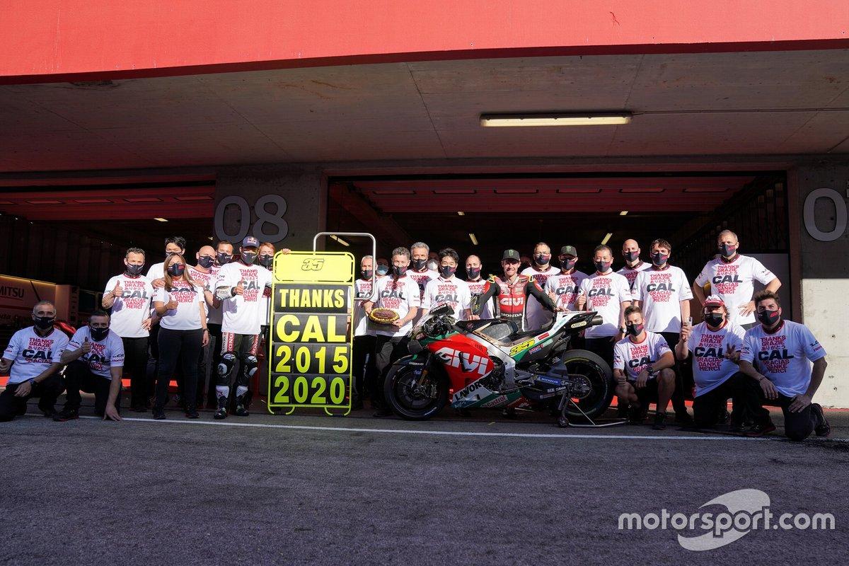 Cal Crutchlow con el equipo LCR Honda
