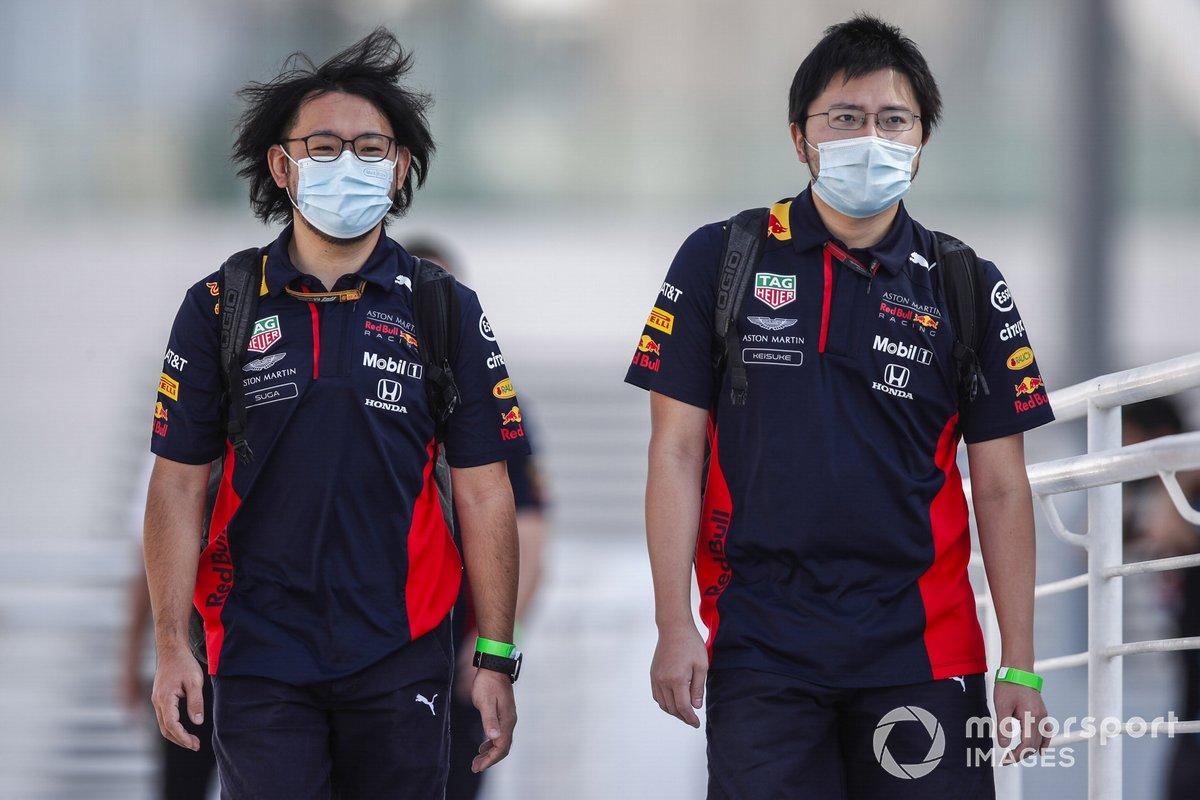 Ingenieros de Honda F1