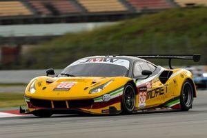 #66 JMW Motorsport Ferrari F488 GTE Evo: Jody Fannin, Andrea Fontana, Rodrigo Sales