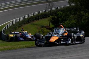 Patricio O'Ward, Arrow McLaren SP Chevrolet, Alexander Rossi, Andretti Autosport Honda