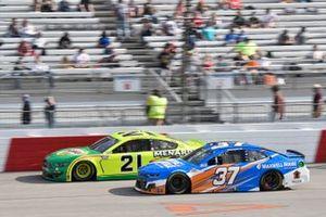 Matt DiBenedetto, Wood Brothers Racing, Ford Mustang Menards/Libman, Ryan Preece, JTG Daugherty Racing, Chevrolet Camaro Maxwell House