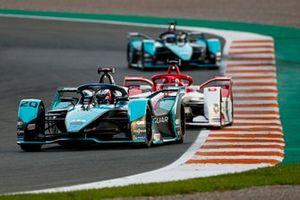 Mitch Evans, Jaguar Racing, Jaguar I-Type 5, Nico Muller, Dragon Penske Autosport, Penske EV-4, Sam Bird, Jaguar Racing, Jaguar I-Type 5