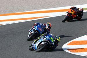 Joan Mir, Team Suzuki MotoGP, Alex Rins, Team Suzuki MotoGP, Pol Espargaro, Red Bull KTM Factory Racing
