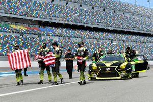 #12 Vasser Sullivan Lexus RC F GT3, GTD: Townsend Bell, Robert Megennis, Zach Veach, Frankie Montecalvo