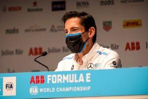 Ian James, team principal de Mercedes Benz EQ, en conférence de presse