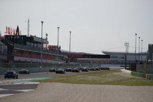 La partenza della Finale Mondiale Ferrari, Trofeo Pirelli 2020
