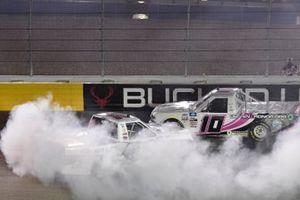 Cory Roper, Roper Racing, Ford F-150 CMN Hospitals/ Carquest, Jennifer Jo Cobb, Jennifer Jo Cobb Racing, Chevrolet Silverado Fastener Supply