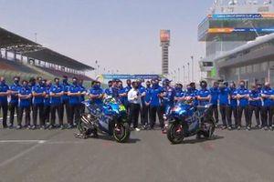 Il Team Suzuki MotoGP