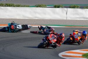 Danilo Petrucci, Ducati Team, Fabio Quartararo, Petronas Yamaha SRT