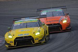 #9 MP Racing GT-R, #81 DAISHIN GT3 GT-R