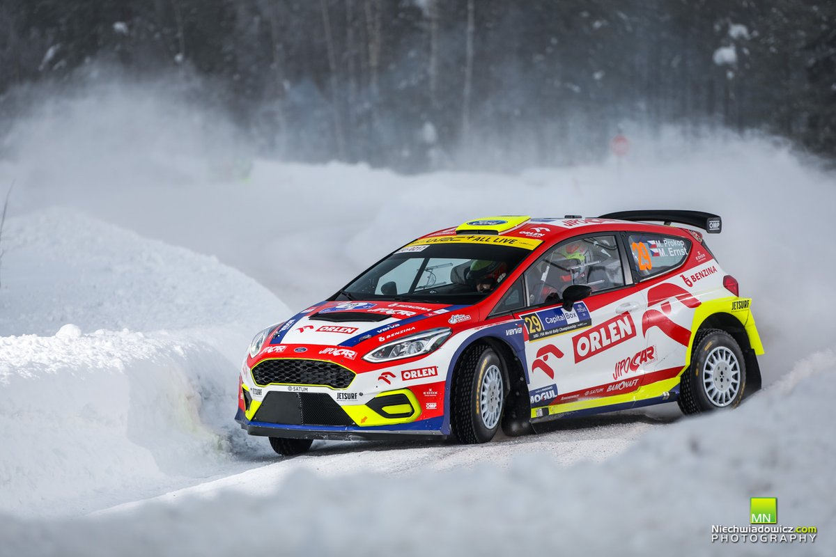 Martin Prokop, Michal Ernst, M-Sport Ford World Rally Team Ford Fiesta MKII