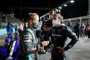 Sam Bird, Panasonic Jaguar Racing, Robin Frijns, Envision Virgin Racing
