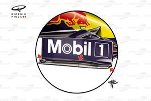 Red Bull Racing RB16 ön kanat