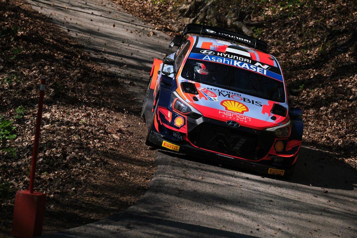 "Ott T""nak, Martin J""rveoja, Hyundai Motorsport Hyundai i20 Coupe WRC"