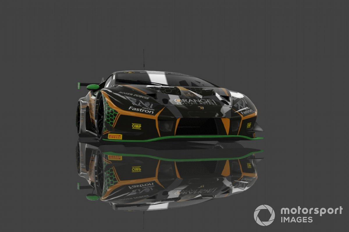#63 Orange1 FFF Racing Team: Andrea Caldarelli, Marco Mapelli, Mirko Bortolotti, Lamborghini Huracan GT3