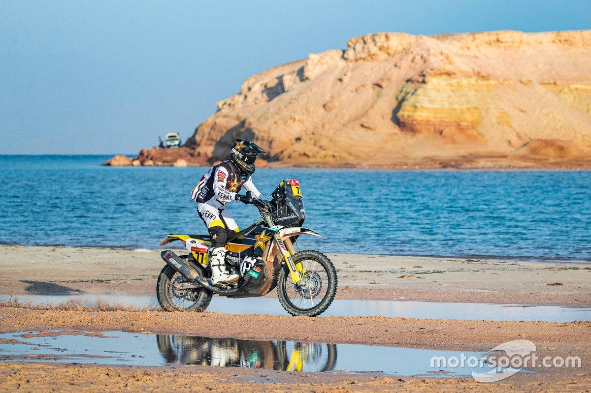 #77 Rockstar Energy Husqvarna Factory Racing: Luciano Benavides