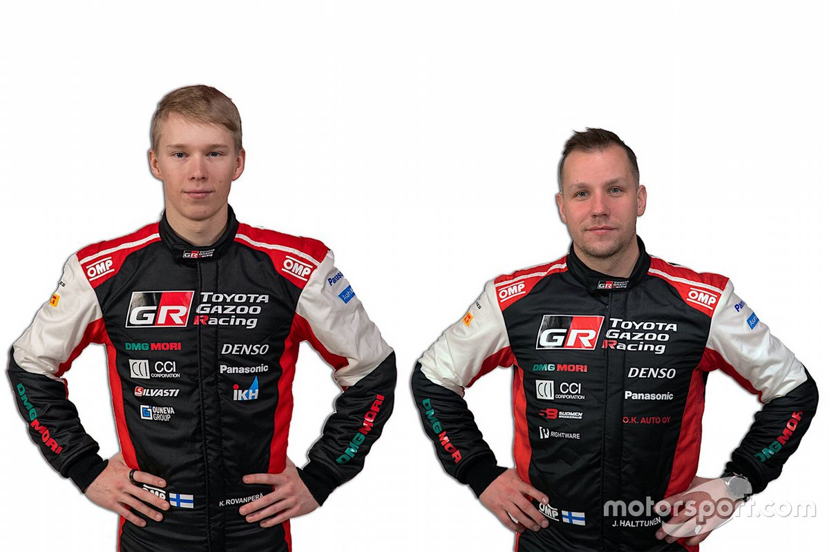 Toyota Gazoo Racing WRT. Экипаж № 69: Рованпера – Халттунен