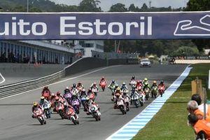 Start Race CEV Moto3 Portugal