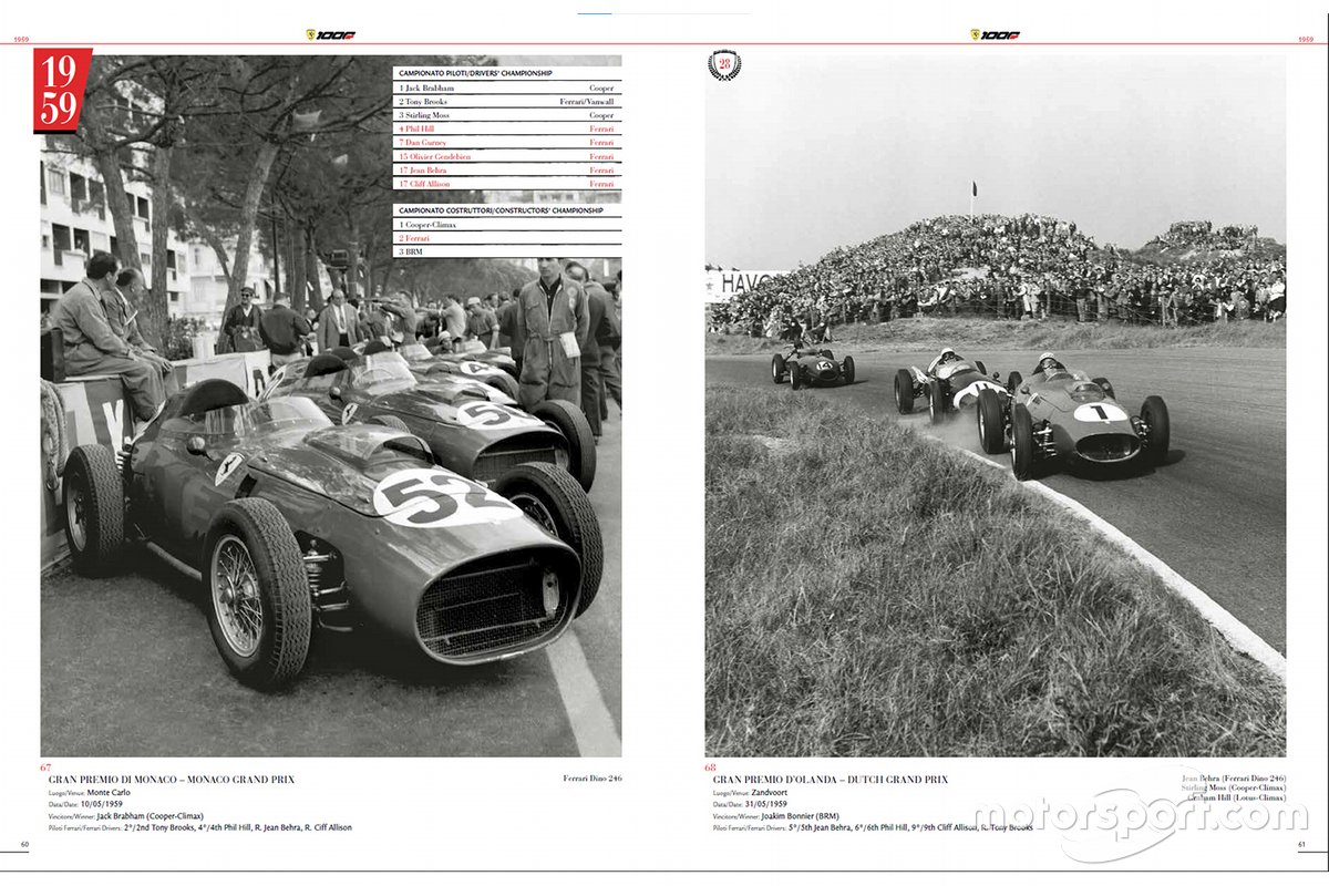 Un estratto dalla Ferrari 1000 GP - The Official Book