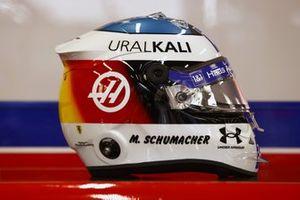 Helmet of Mick Schumacher, Haas F1 Team
