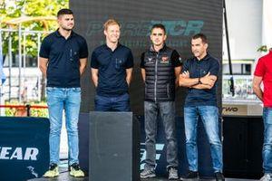 Daniel Nagy, Mattias Ekström, Mikel Azcona, Jordi Gené, Zengő Motorsport X CUPRA