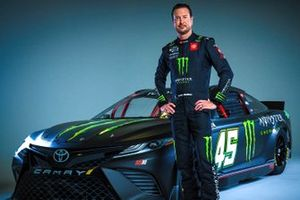 Kurt Busch, 23XI Racing with his new livery