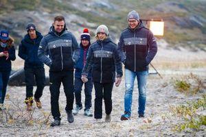 Mikaela Ahlin-Kottulinsky, JBXE Extreme-E Team, e Kevin Hansen, JBXE Extreme-E Team