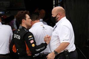 Patricio O'Ward, Arrow McLaren SP Chevrolet, ritirato, Tim Bampton
