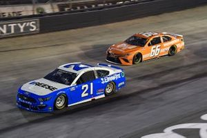 Matt DiBenedetto, Wood Brothers Racing, Ford Mustang Reese/Draw-Tite and David Starr, MBM Motorsports, Toyota Camry The Naked Market
