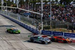 #26: O'Gara Motorsport / USRT Mercedes-AMG GT3, GTD: Steven Aghakhani, Jacob Eidson, #76: Compass Racing Acura NSX GT3, GTD: Matt McMurry, Mario Farnbacher