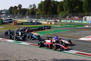 Marino Sato, Trident Enzo Fittipaldi, Charouz Racing System Roy Nissany, Dams