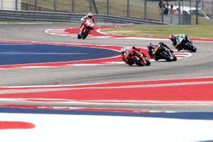MotoGP-Action auf dem Circuit of The Americas in Austin