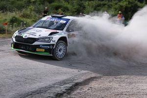 Giandomenico Basso, Lorenzo Granai, Skoda Fabia Rally2 evo