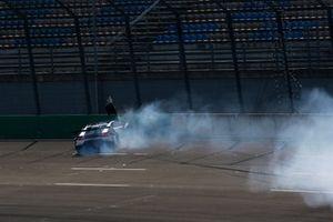 Esmee Hawkey, T3-Motorsport Lamborghini Huracan Evo GT3, crash