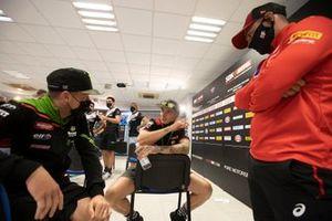 Alex Lowes, Kawasaki Racing Team WorldSBK, Scott Redding, Aruba.It Racing - Ducati, Leon Haslam, Team HRC a Chaz Davies, annuncia il suo ritiro
