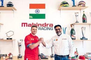 Oliver Rowland, Dilbagh Gill, Mahindra Racing CEO and Team Principal