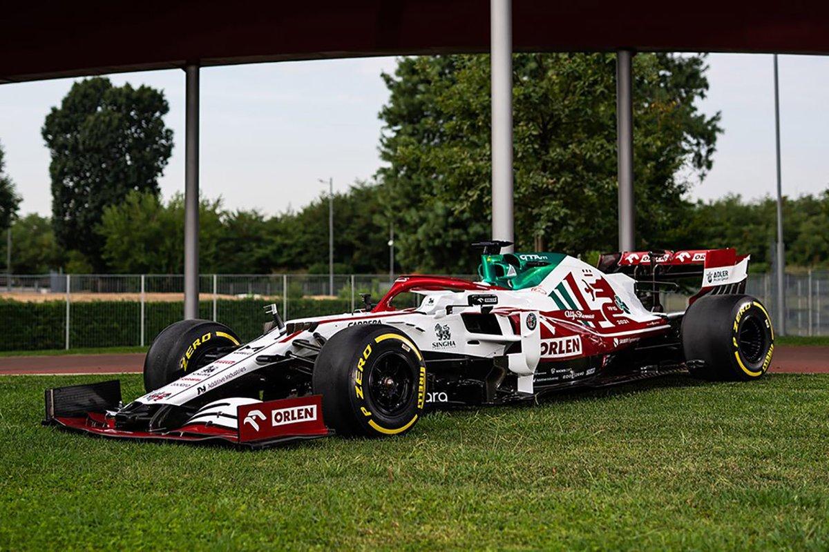 Livrea dell'Alfa Romeo C41 per il GP d'Italia