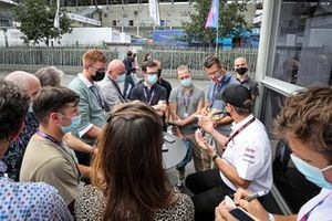 Conferenza stampa della Toyota Gazoo Racing