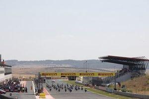 La partenza di Gara 1