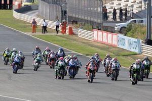 Start der Superbike-WM in Navarra: Jonathan Rea, Kawasaki Racing Team WorldSBK, führt