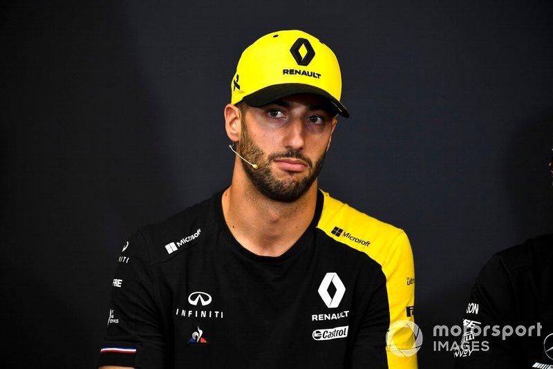 Daniel Ricciardo, Renault F1 Team in conferenza stampa