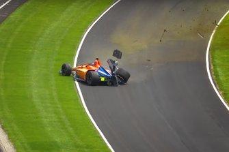 Fernando Alonso, incidente